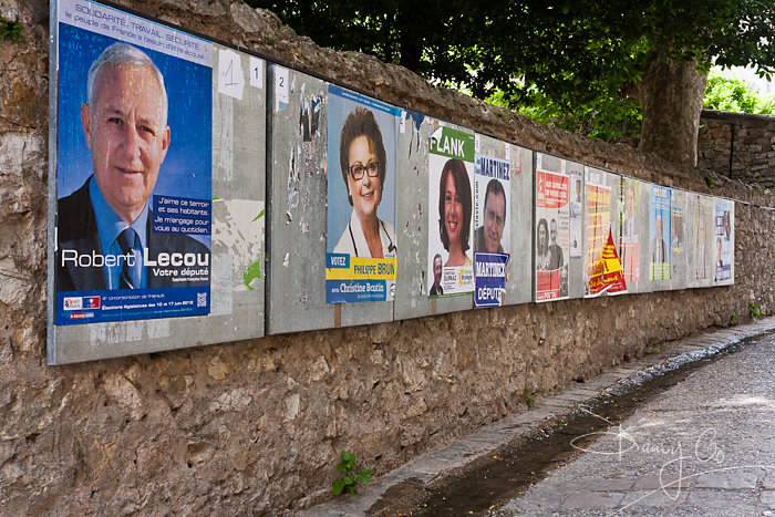 French Election Posters