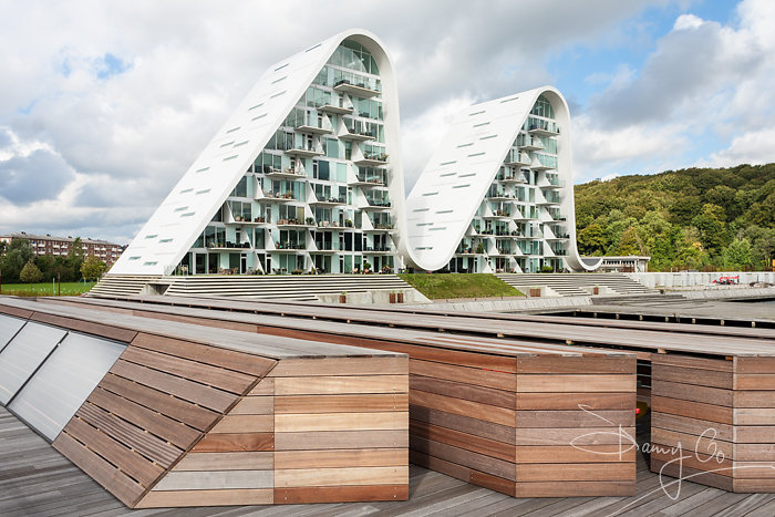 The Wave apartment complex