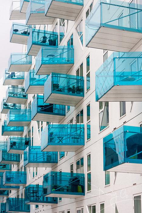 The Iceberg apartment complex