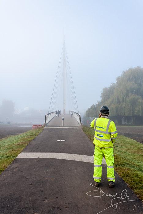 Reading Footbridge and Cycle Bridge